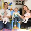 Otthoni családfotózás